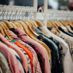Shop for clothing,Clothes shop on hanger at the modern shop boutique