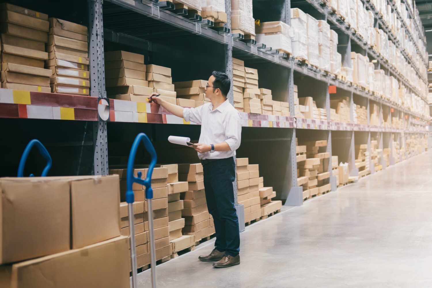 Sage barcoding and Inventory Optimisation