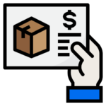 purchase order for inventory management icon
