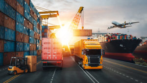 Transportation and logistics within supply-chain